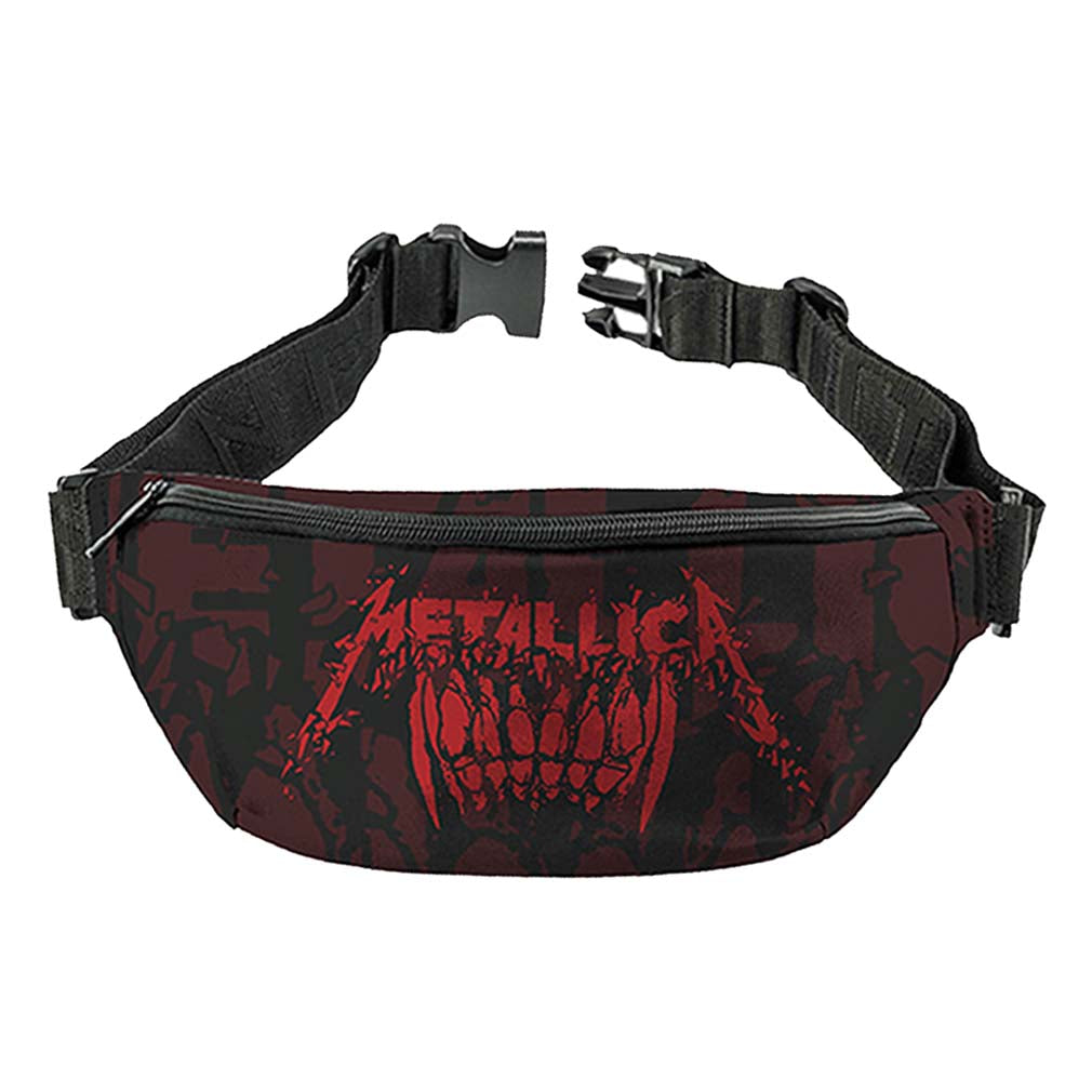 Metallica Teeth Fanny Pack