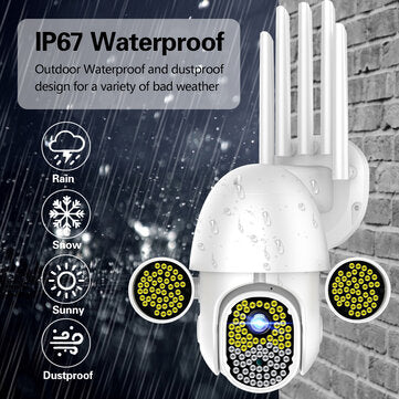 Image of 360° Wireless Waterproof Surveillance Camera