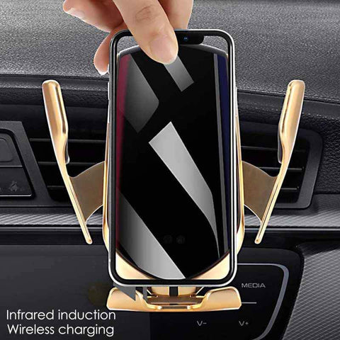 Image of Smart Automatic Car Wireless Charger
