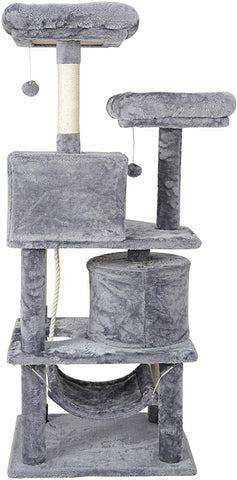 "Image of 57"" Cat Tree Condo Pet Activity Tower"