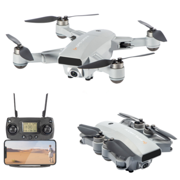 Image of Foldable RC Drone Quadcopter With 6K HD Camera