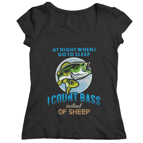 Image of I Count Bass Instead Of Sheep