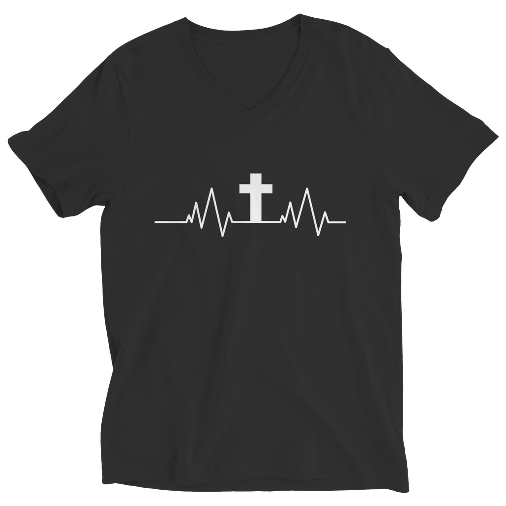 Christian Heartbeat Cross