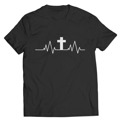 Image of Christian Heartbeat Cross