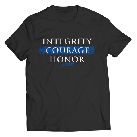 Image of Integrity Courage Honor - Unisex Shirt