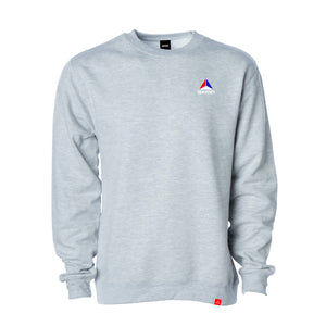 Axion Prism Embroidered Crew