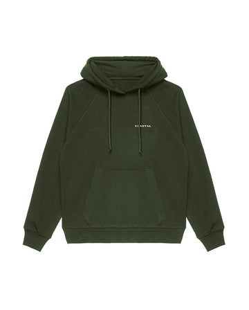 All Day Hoodie Organic Cotton Forest Green