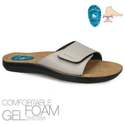 Ceyo Adult Comfort gel foam sandal 6100-22 sizes 40-45 (6  ½ - 10 ½ UK) - The Flip Flop Hut