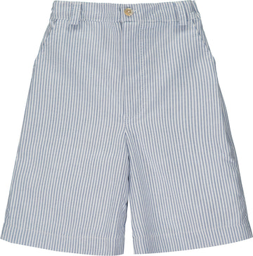 BIARRITZ SHORTS WHITE AND BLUE