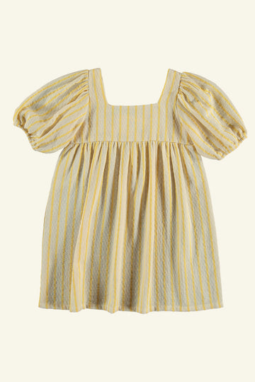 CITRONNIER DRESS YELLOW STRIPE