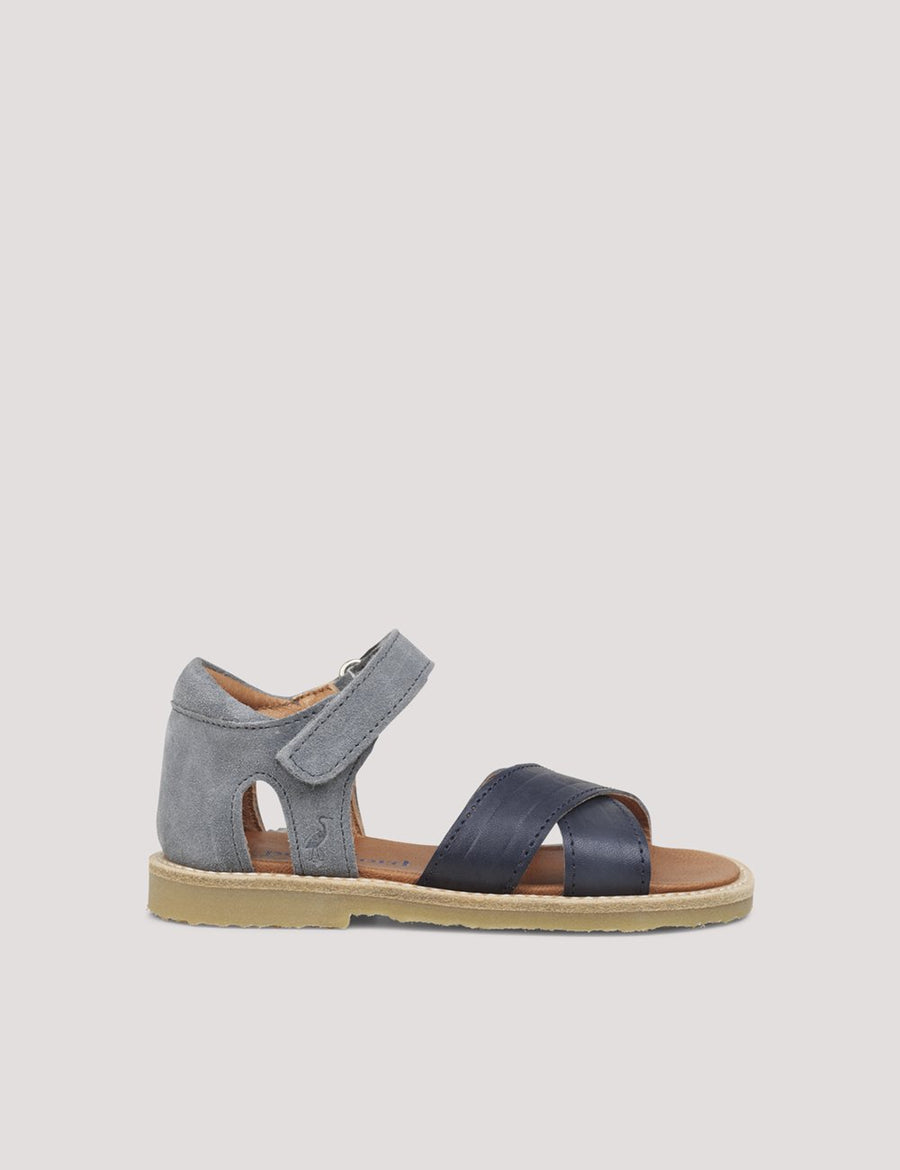 Cross-Over Sandal Denim