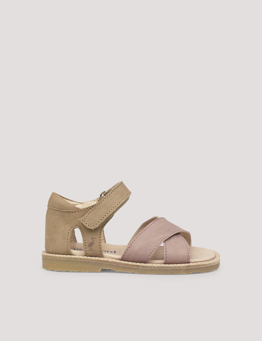Cross-Over Sandal Old Rose