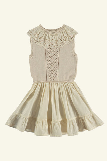 FLORIANNE BABY DRESS NATURAL