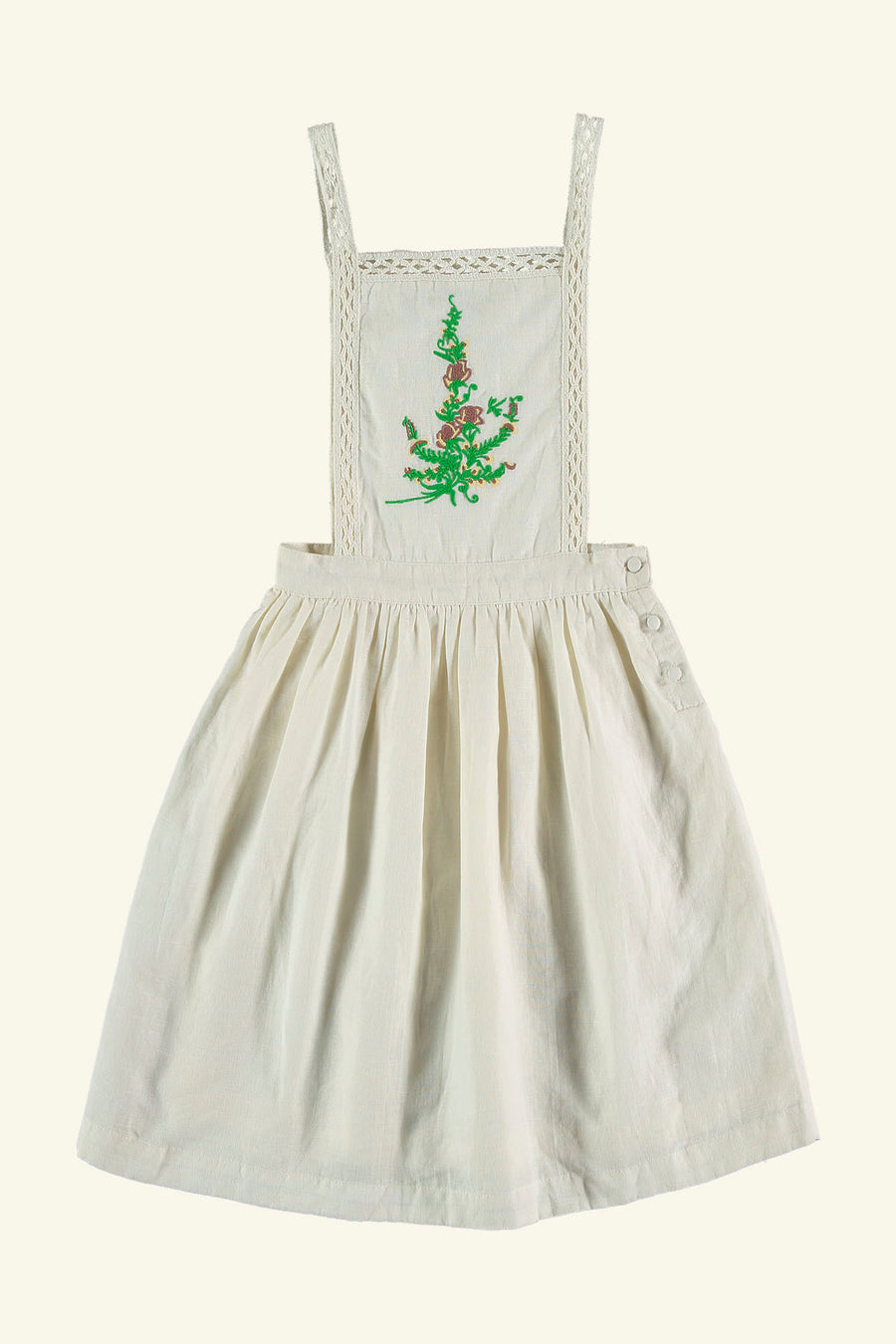JACINTHER DRESS OFF WHITE
