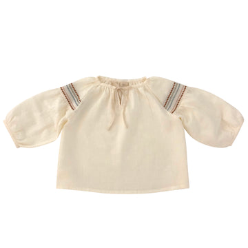 Folk sofia  Blouse Milk