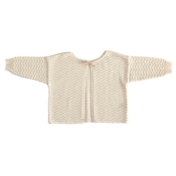 Knit Jacket Milk