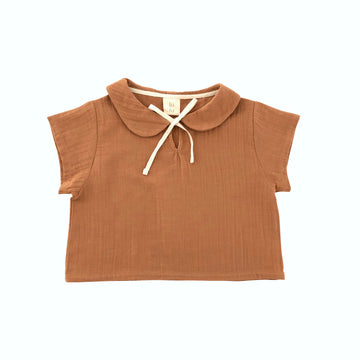 Lara blouse Terracotta