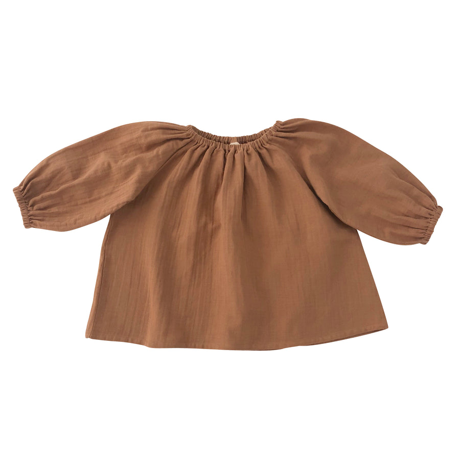 Liilu Blouse  Terracotta