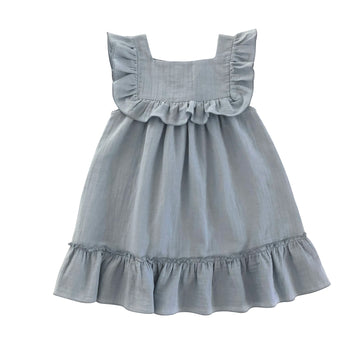 Lina Dress Dusty blue