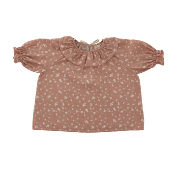 Oana  Blouse Dusty Flower petals
