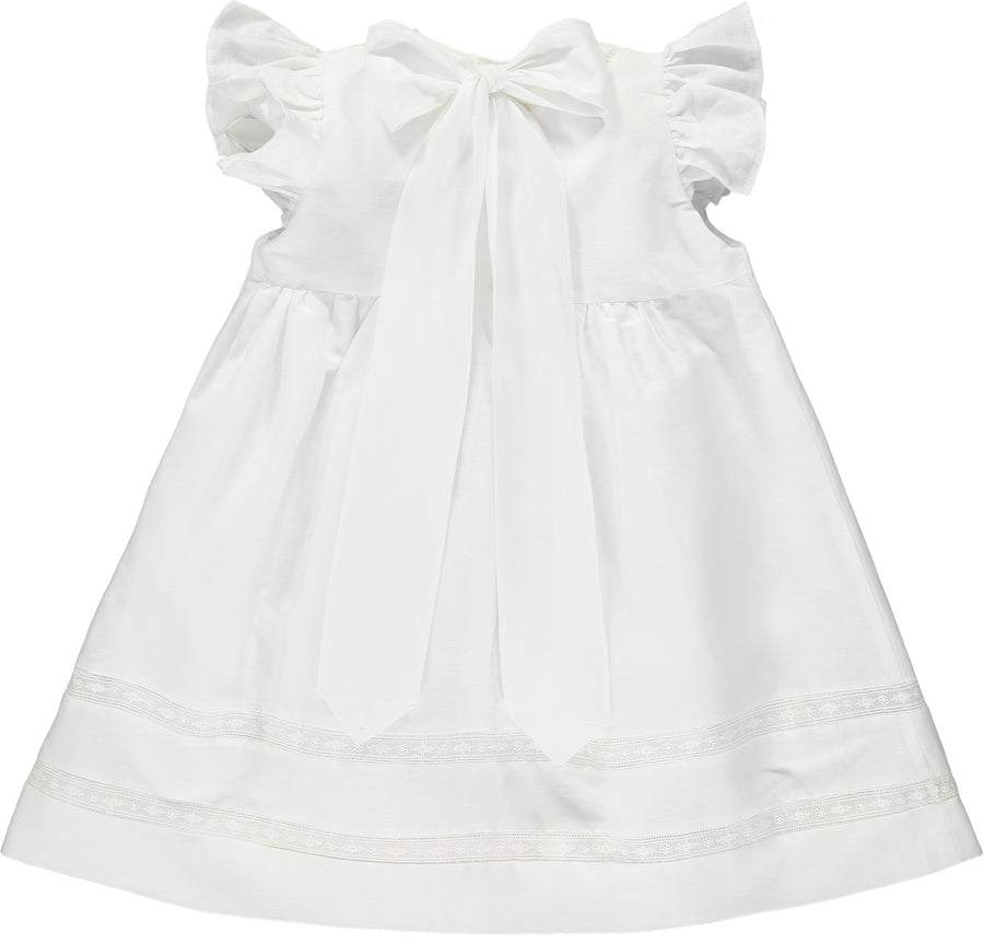 POSITANO DRESS WHITE
