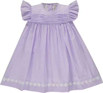 PROVENCE DRESS PURPLE