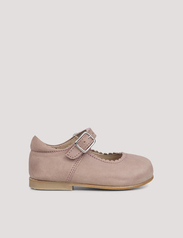 Scallop Ballerina Old Rose