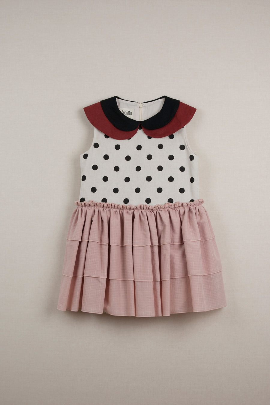 Mod. 22.2 Pink Double Frill Dress