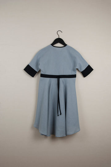 Mod. 24.1 Blue Cape Dress