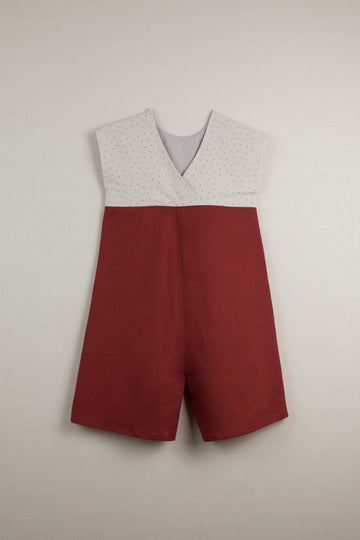 Mod. 30.2 Earth Red Jumpsuit