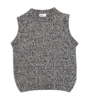 Maed for Mini Grey Wool Cardigans / Spencer
