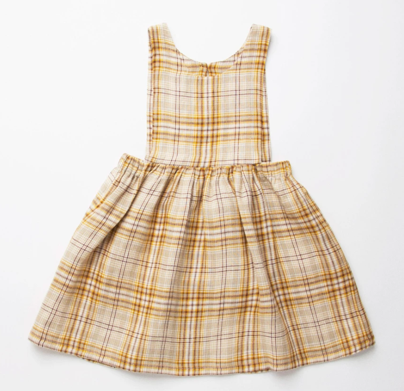 Nellie Quats marlow pinafore Yellow