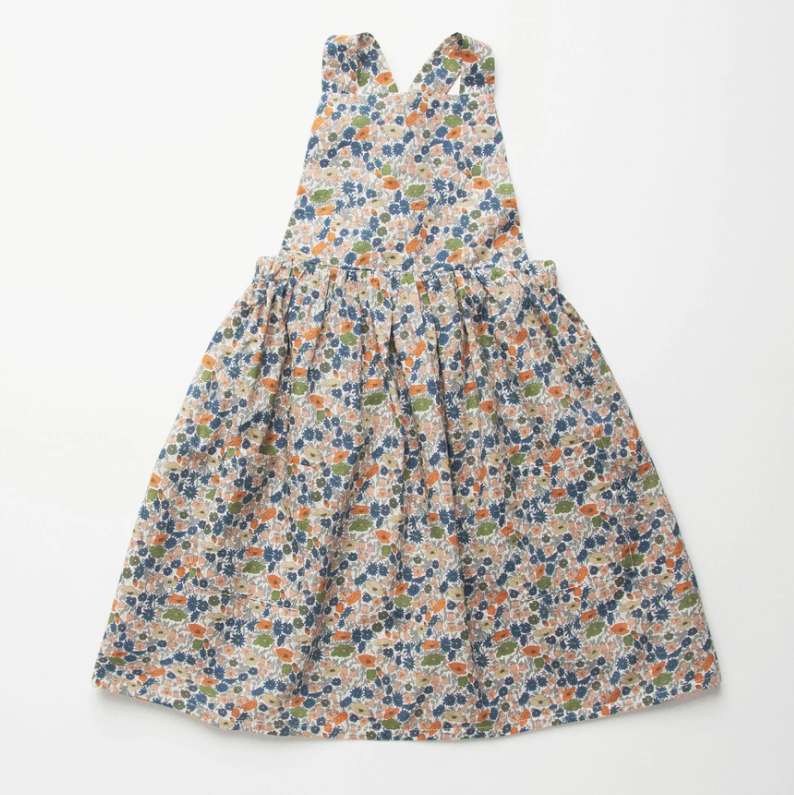 Nellie Quats conkers pinafore