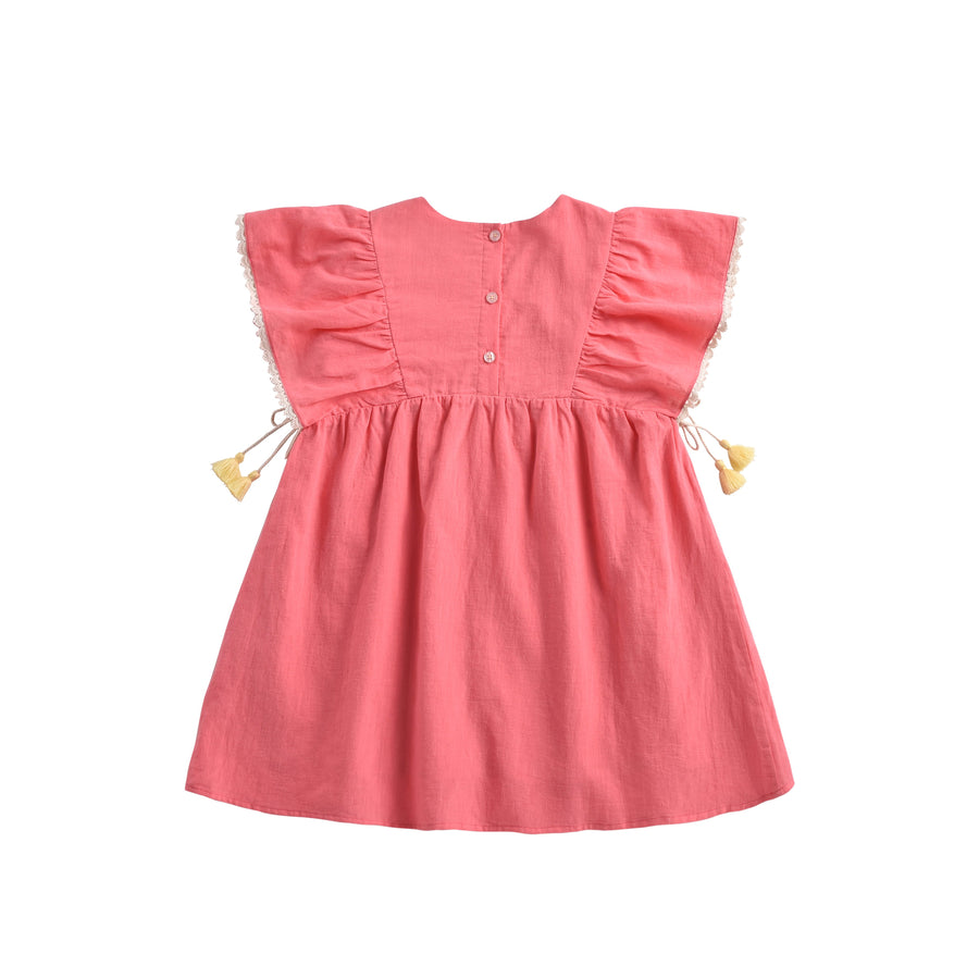 Khalo Dress Strawberry