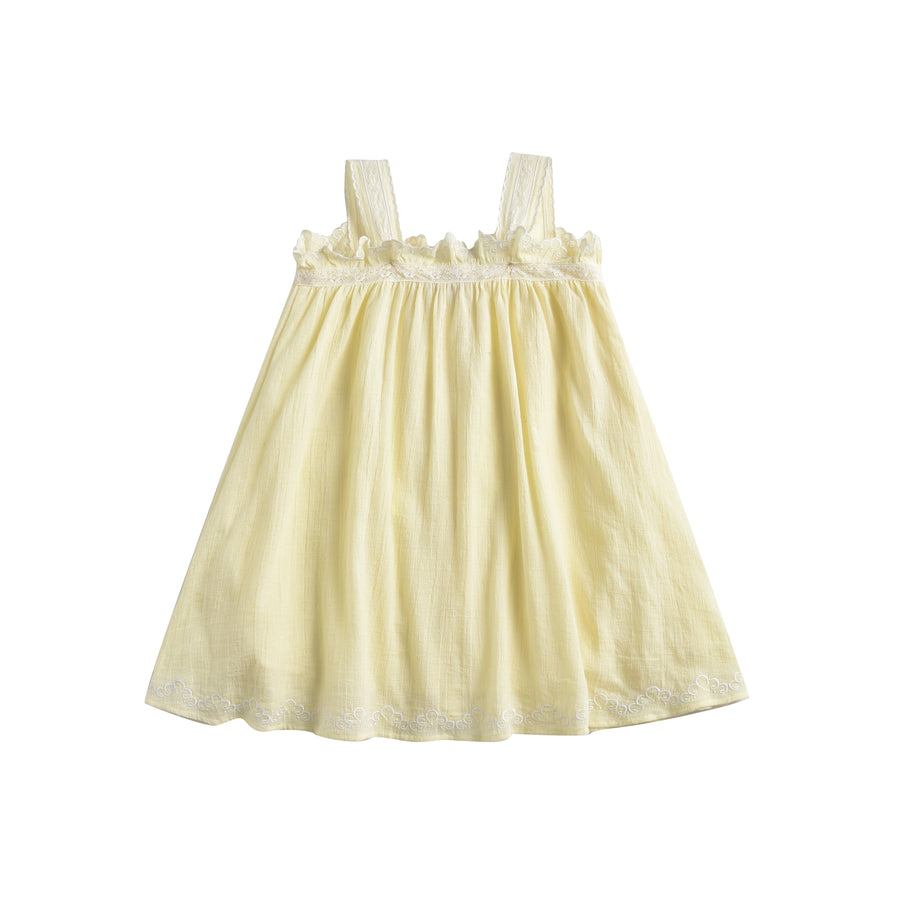 Lucina Dress French Vanilla