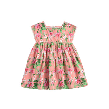 Tapalpa Dress Sienna Flamingo