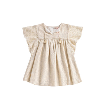 Teresa Dress Cream Baroque Lace