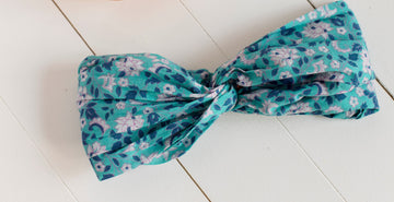 Yuriria Headband Emerald Flowers