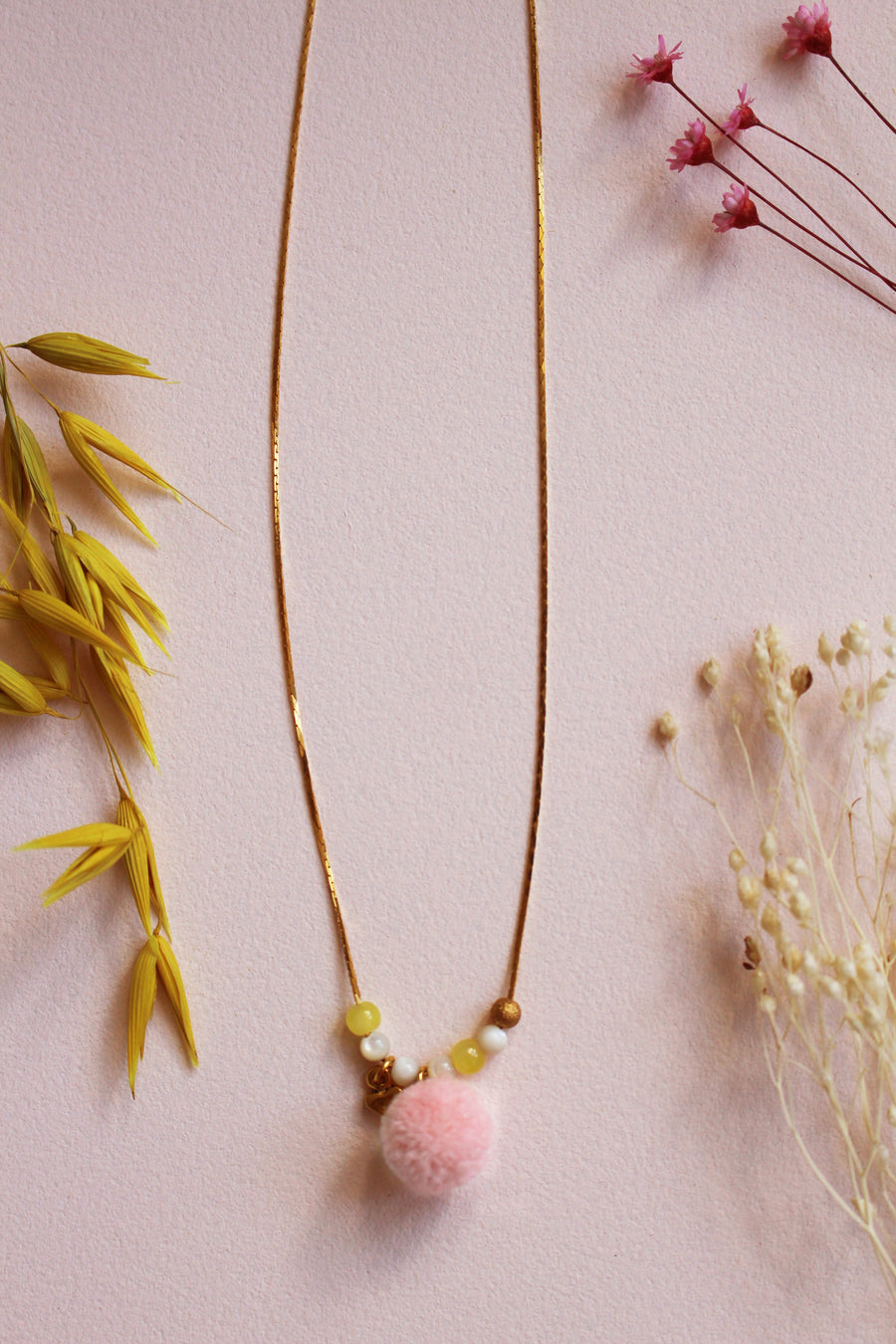 Serenade Necklace Blush
