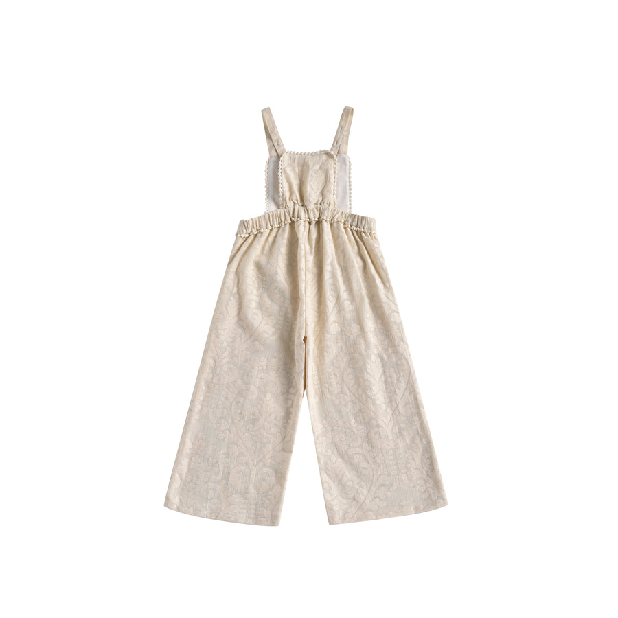 Bacalar Overalls Cream Baroque Lace