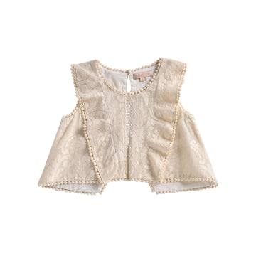 Jelly Top Cream Baroque Lace