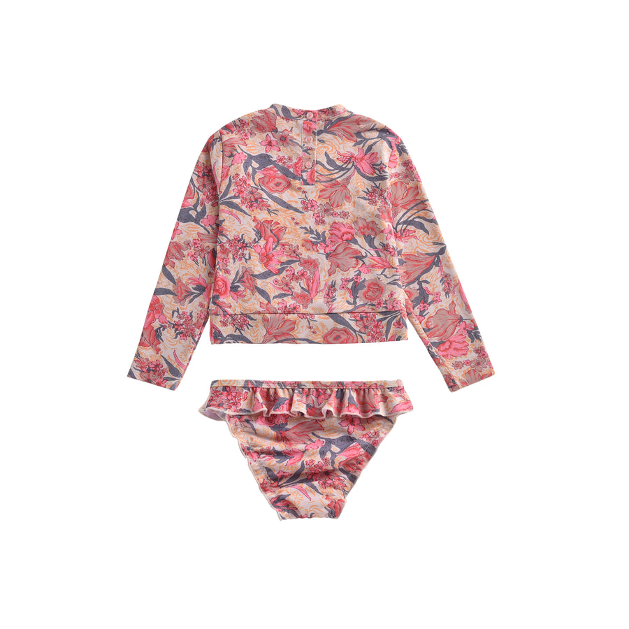 Toluca UV Protective Set Pink Flowers