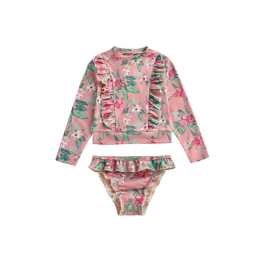 Toluca UV Protective Set Sienna Flamingo