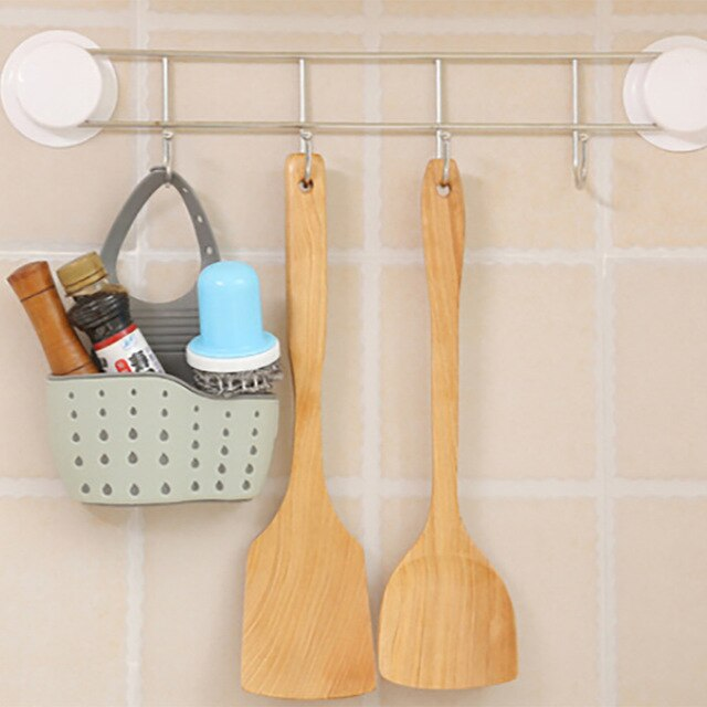 Useful Suction Cup Kitchen Sponge Drain Holder