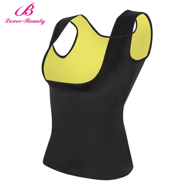 Body Shaper Tank Top | Tummy Fat Burner Sweat Tank Top