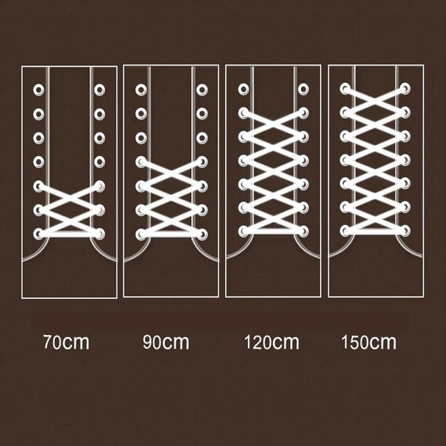 Round Solid Shoelaces | Top Quality Polyester Shoelaces