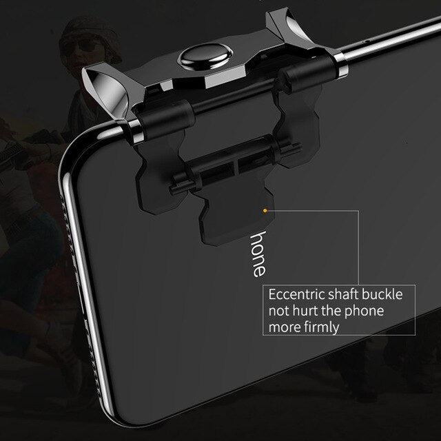 Mobile phone 4 Trigger Fire Aim Buttons