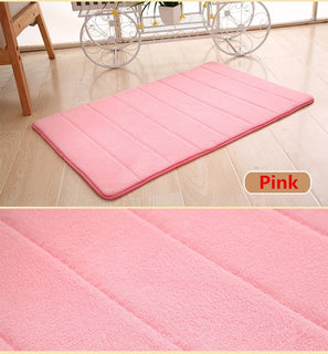 Bath Mat Bathroom Carpet | Water Absorption Rug Shaggy