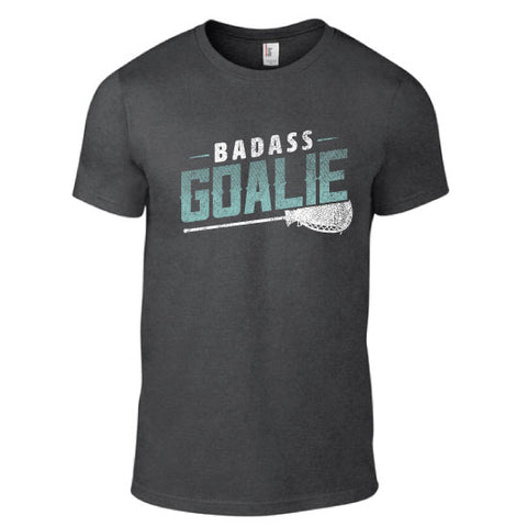 Lacrosse - Bad Ass Goalie Short Sleeve Tee