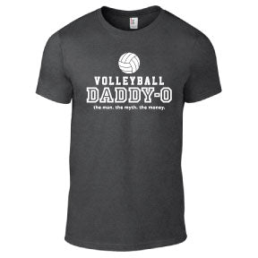 Volleyball - Volleyball Daddy-O Dark Heather Short Sleeve
